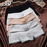 Panties female cotton boxer large size high quality soft comfortable sexy girl seamless boxer underwear head Harajuku new style