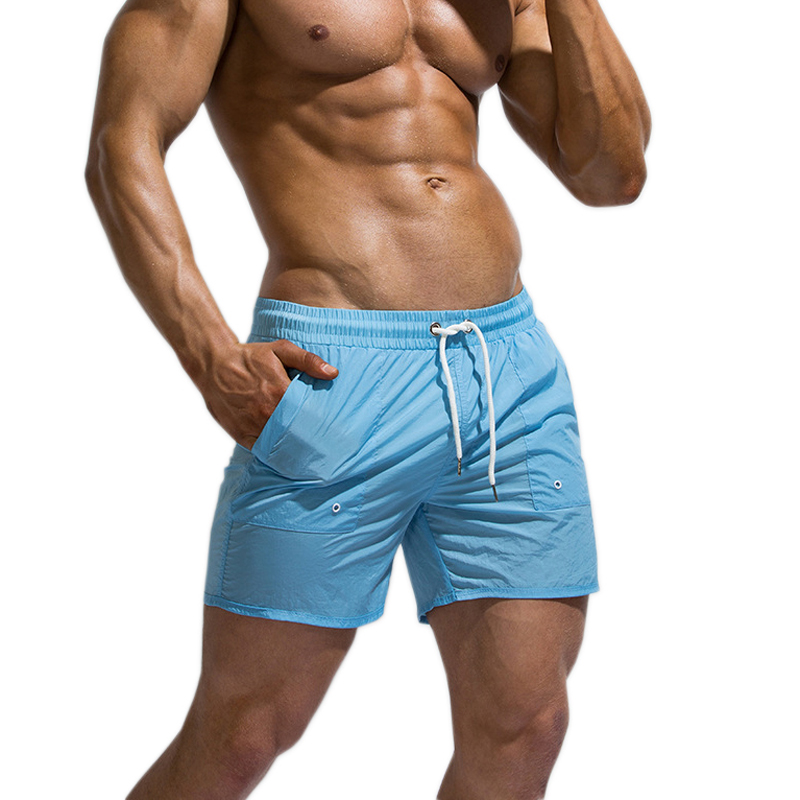 New Summer Casual Quick Drying Home Shorts Men Sexy Sleep Bottoms Outdoor Sports Beach Shorts Cozy Male Sleep Bottoms