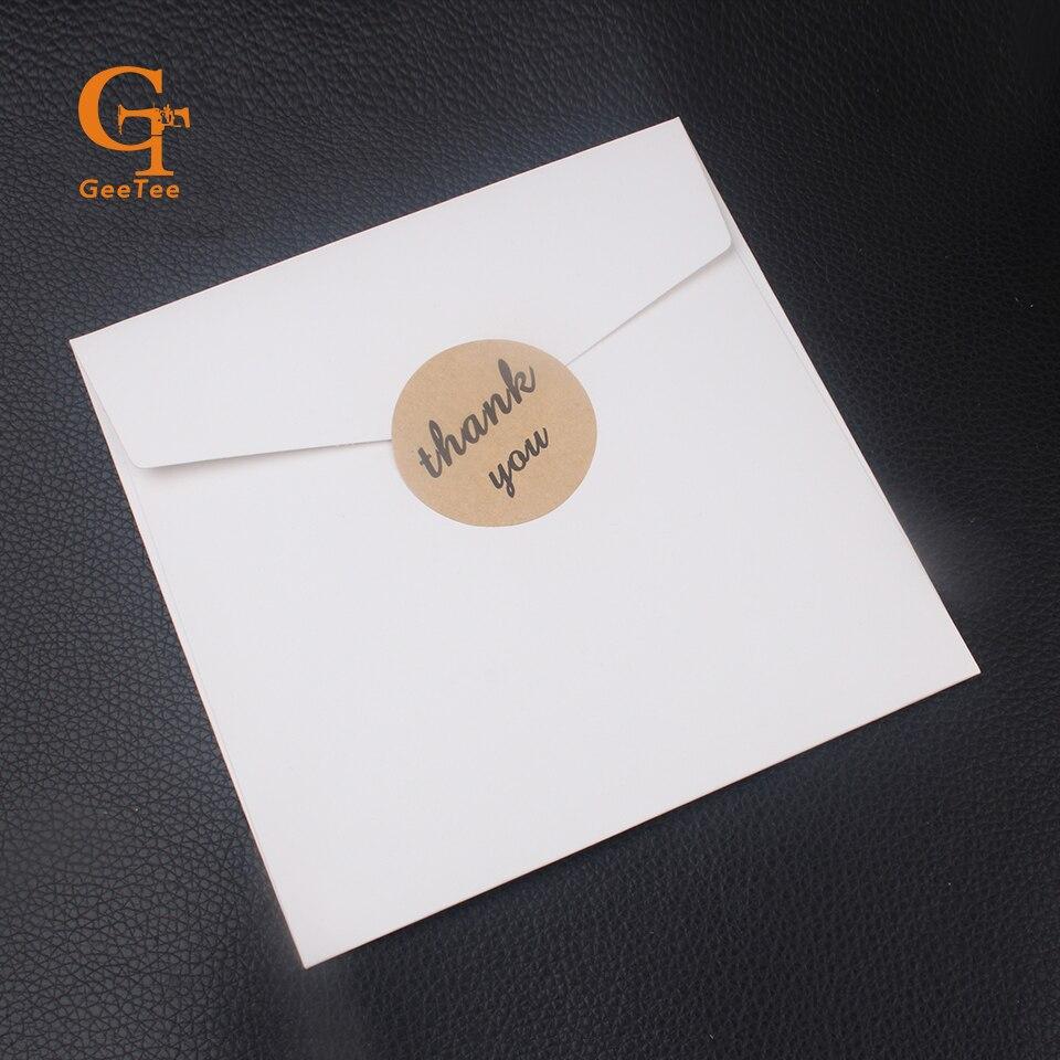 Custom logo brand name printed business paper gift envelope ...