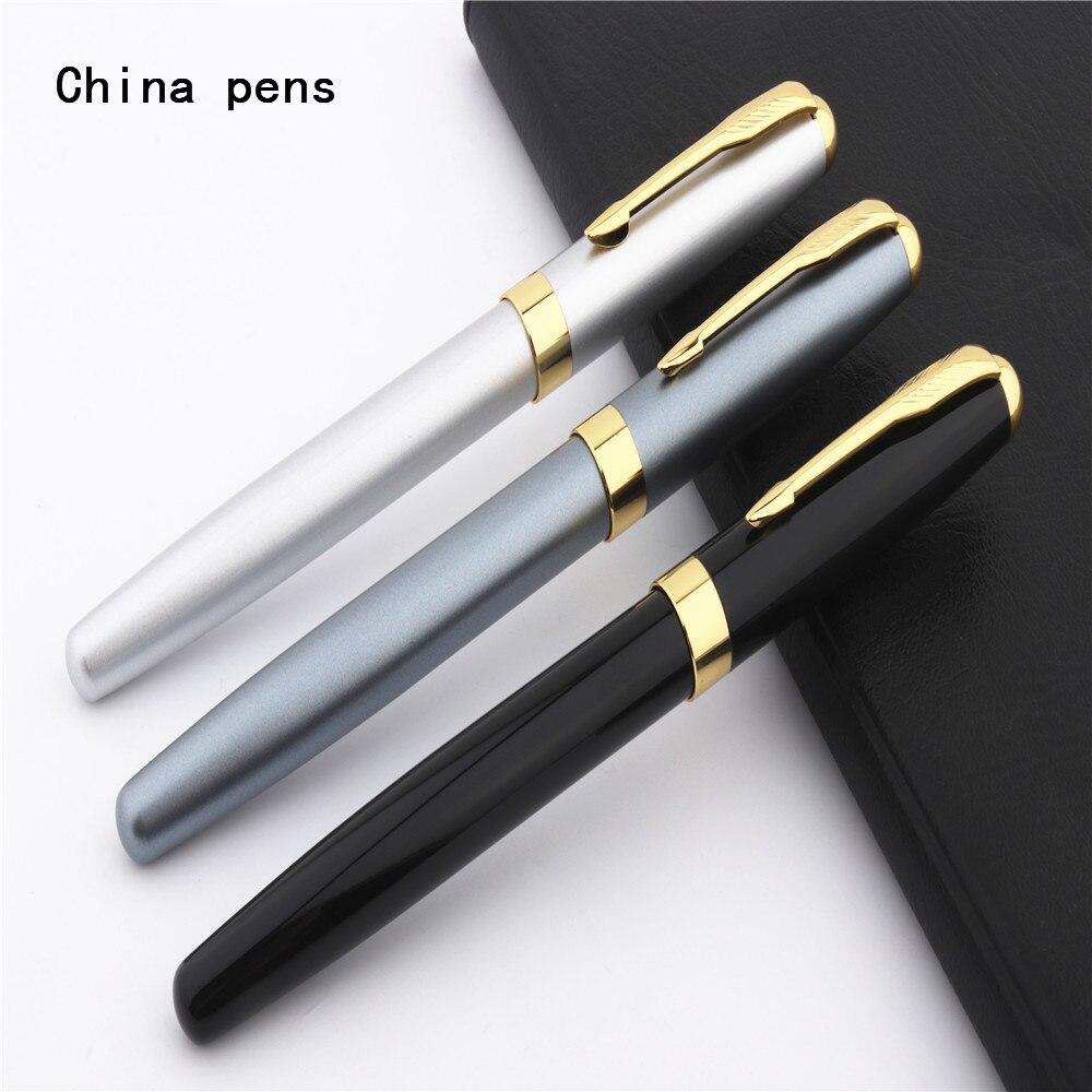 Luxury Classic office pens Baoer 388 Student school Medium Nib Rollerball Pen