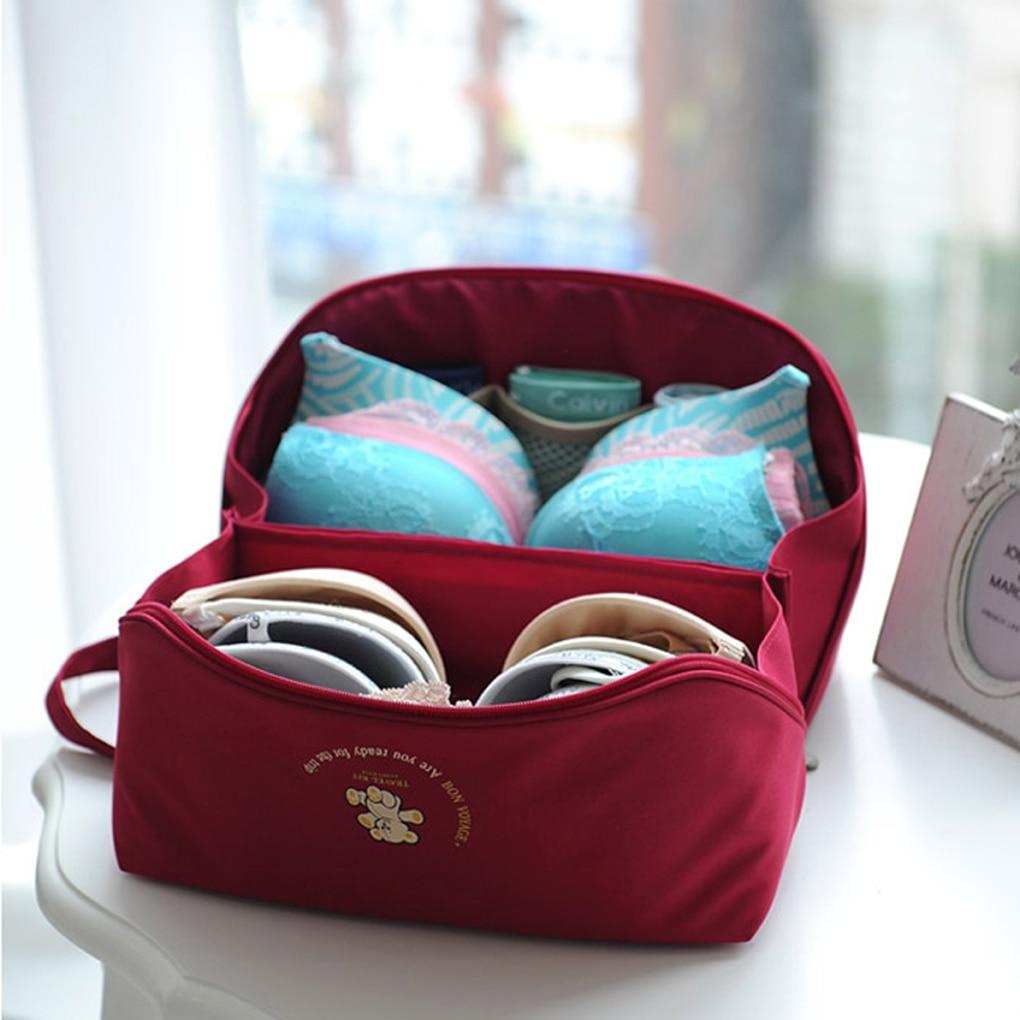 Portable Waterdichte Reizen Outdoor Ondergoed Beha Opbergtas Carry - Home opslag en organisatie