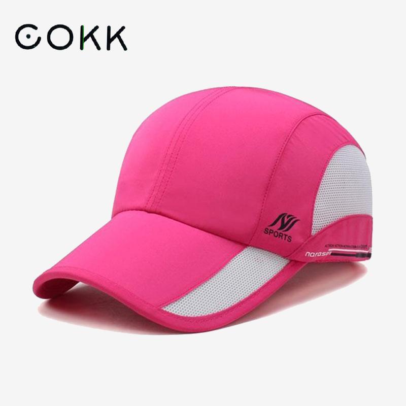 قبعة بيسبول للنساء الرجال التجفيف السريع للماء تنفس شبكة Snapback قبعة سائق شاحنة قبعة قابل للتعديل أحد