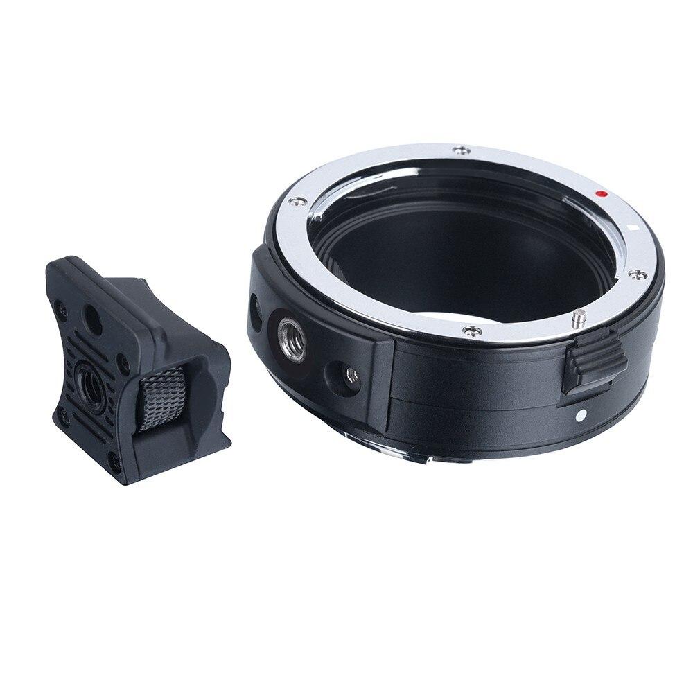 Adaptateur de monture d'objectif électronique Commlite AF de l'objectif Canon EF/EF-S à l'appareil photo plein cadre Canon EOS R RF - 2