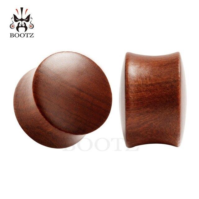 Купить деревянные ушные пробки kubooz 2 шт измерительные туннели из