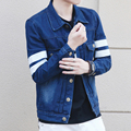 TG6250Cheap wholesale 2016 new Han edition cultivate one's morality men denim jacket coat coat jacket to wear thin coat