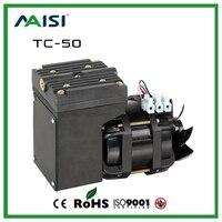 2017 new 110V /220V (AC) 25L/MIN 68 W small electric vacuum pump High Pressure Micro Diaphragm Pump Professional air pump TC 50