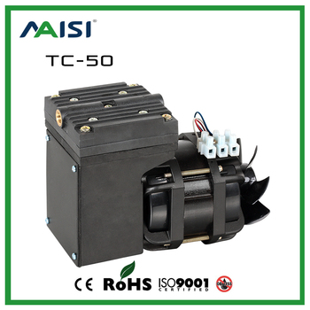 New 110V /220V (AC) 25L/MIN 68 W small electric vacuum pump High Pressure Micro Diaphragm Pump Professional air pump-TC-50 220v small high oil free vacuum pump 51 7l min 320w high air suction pump without filter