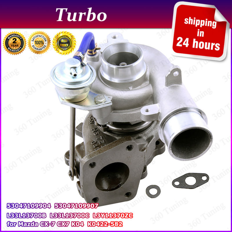 For Mazda CX 7 Turbocharger K0422 582 K0422 583 Turbo 2.3L