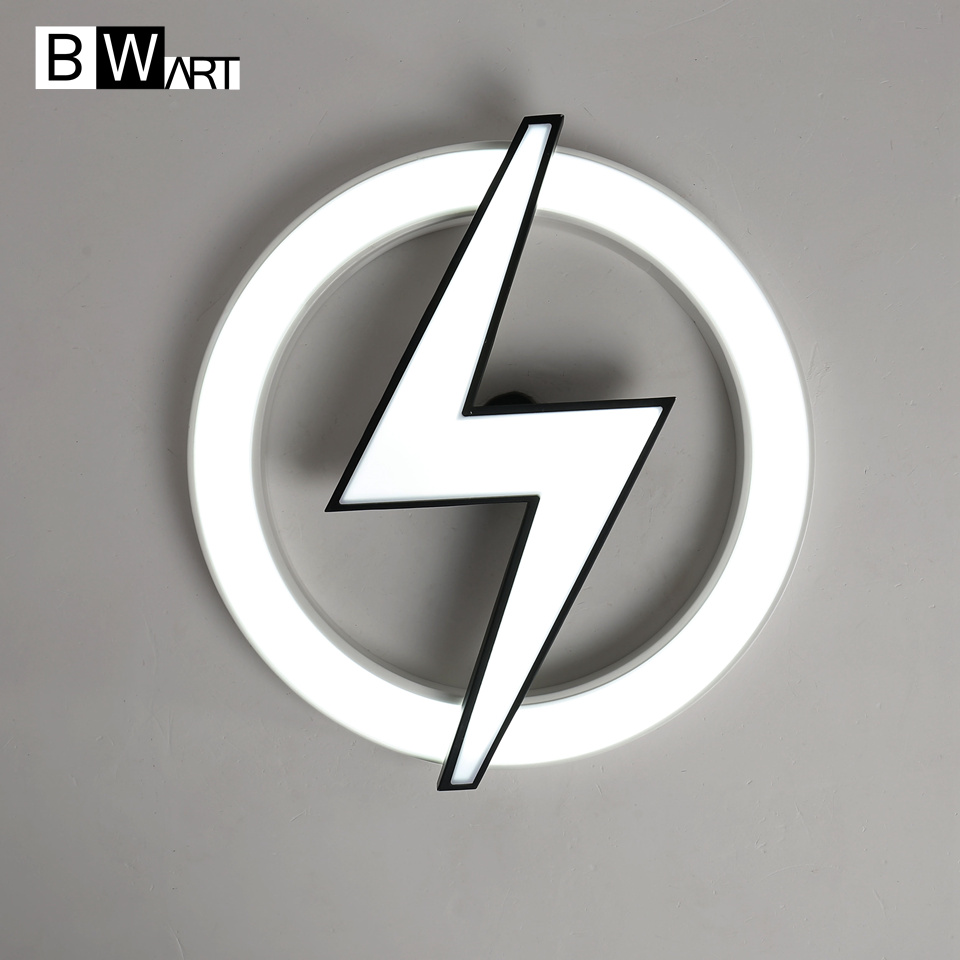 Led Light Fixture Flashing On And Off: BWART Modern Led Ceiling Light Remote Ceiling Lamp Flash