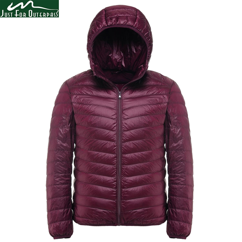 2018 новый зима 90% Белое пуховое пальто Для мужчин с капюшоном ультра легкая зимняя куртка-пуховик мужской ветрозащитный Теплая парка 4XL 5XL 6XL плюс Размеры