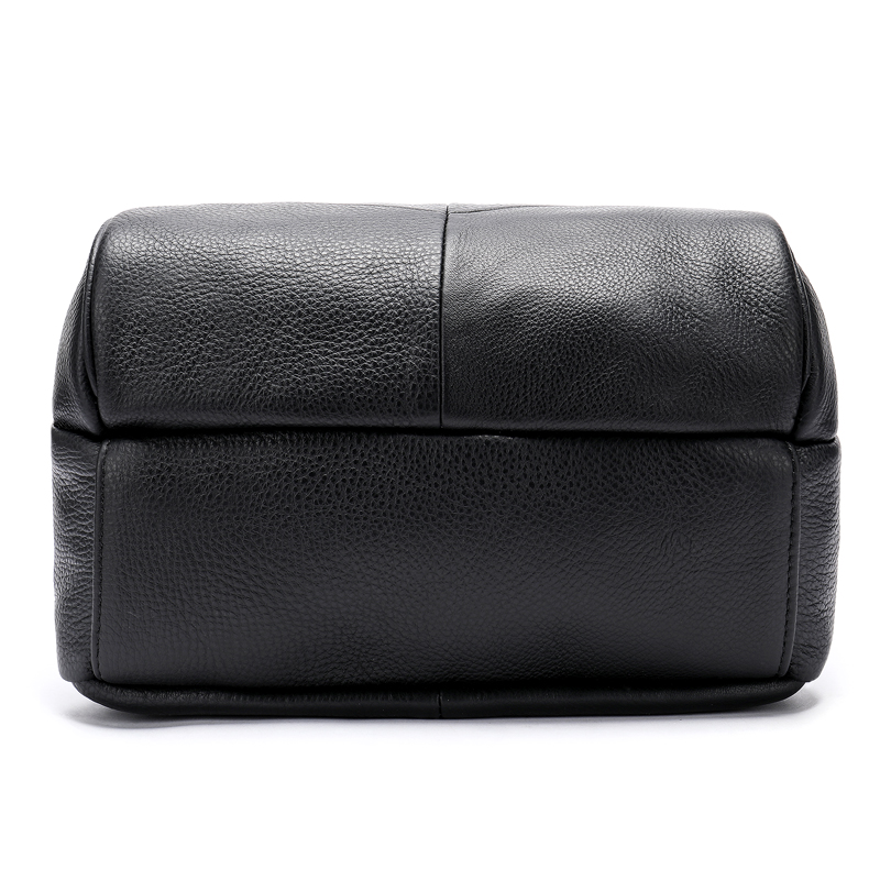 Westal 여성 배낭 정품 가죽 학교 가방 10 대 소녀 가방에 대 한 블랙/여행 가방에 대 한 노트북 mochila feminina-에서백팩부터 수화물 & 가방 의  그룹 3