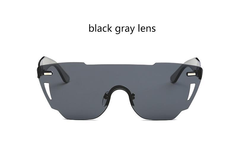 HTB1ucJgRXXXXXXWapXXq6xXFXXXx - Candy Color Sunglasses Flat Top Rimless Sunglasses