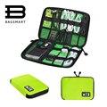 BAGSMART Acessórios Eletrônicos Embalagem Organizadores para Fone De Ouvido USB Cabo de Dados Carregador de Cartão SD Pacote de Saco de Viagem Mala Caso