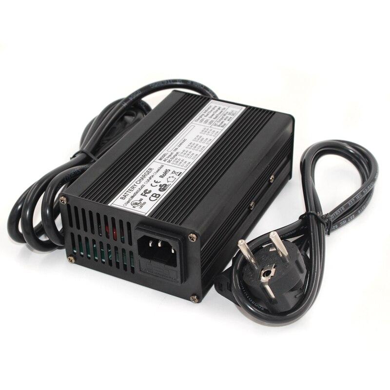 29.4 v 5a carregador 7 s 24 v li-ion bateria carregador saída dc 29.4 v com ventilador de refrigeração frete grátis