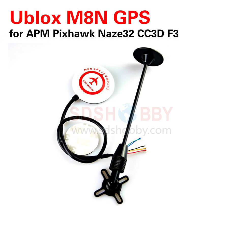 2016 NEW Mini Ublox NEO M8N GPS for APM Pixhawk CC3D Naze32 SP Racing F3 Flight Controller 2017 new hot sale ublox neo m8n bn 800 gps module support gps glonass beidou for pixhawk apm brand new high quality mar 28