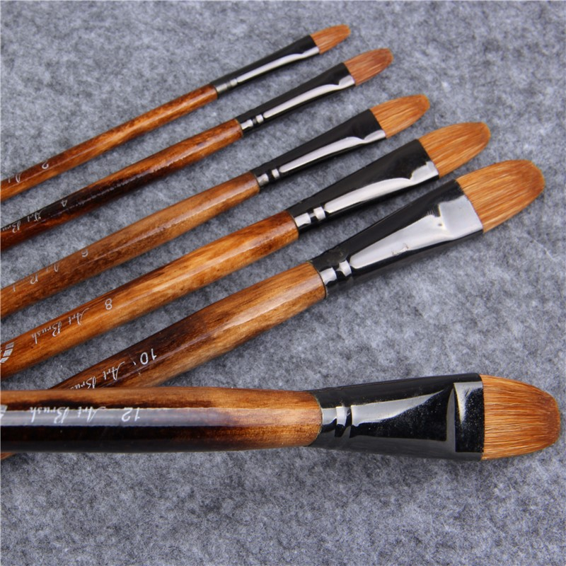 Acrylics Paint Brush Mini Set