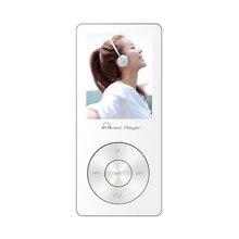 Mini Deporte Reproductor de MP3 Portátil IQQ X05 100 horas de Reproducción con Altavoz 8 GB de la Ayuda FM Radio Vídeo Reproductor de Música blanco