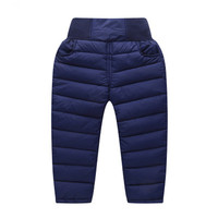 2018 Autumn Winter New Children Girls Boys Down Cotton Pants Baby Warm Thick High Waist Trousers Kids Girls Leggings Y78