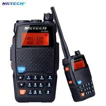 NKTECH Walkie Talkie UV-5RX VHF UHF Tri-Power 8W 4W 1W Two-Way Radio Walkie Talkie BaoFeng 3200mah battey