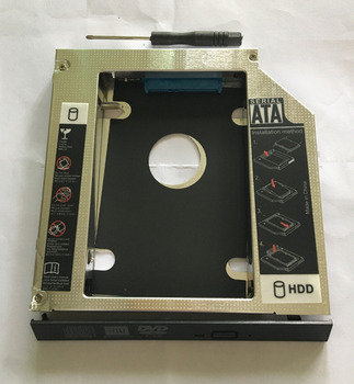 WZSM Neue zweite SATA HDD Ssd-festplatte Caddy 9,5mm für HP EliteDesk 800 820 G1 UJ8G2 UJ8D2