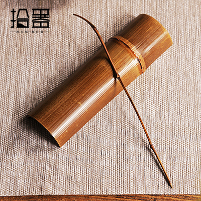 Natural Bamboo Tea Scoop 1
