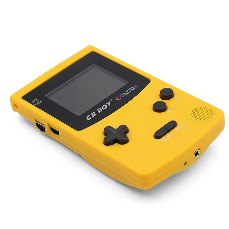 GB Boy Colour Color Handheld Game Player 2.7 Portable Classic Game Console Consoles With Backlit 66 Built-in Games Play Fun image
