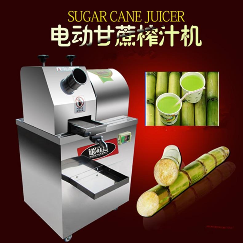 Автоматическая подача тростниковый соковыжималка, двойной источника питания сахарного тростника машина, электрическая машина сахарного т