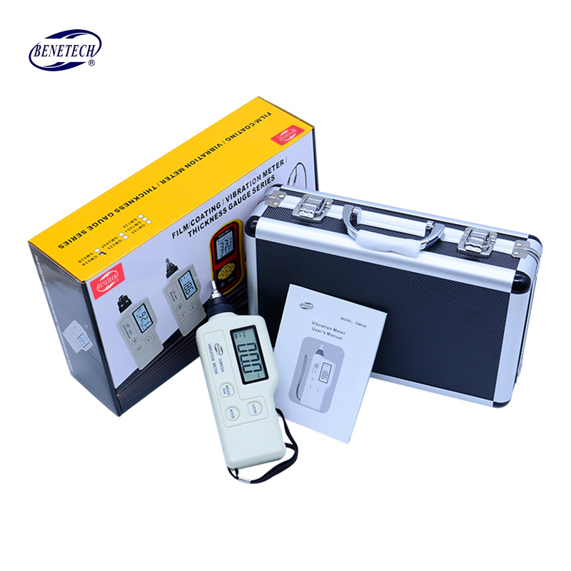 GM63A Digital Vibration Meter Mechanical fault detector Vibrometer Analyzer Acceleration Velocity Equipped with AC Output portable electronic vibration meter 0 1 199 9m s ac output digital vibration frequency analyzer tester lcd backlit vibrometer