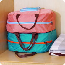 Collapsible Large Capacity Travelling Bag Thickened Portable Multi Use Clothes Storage And Sorting