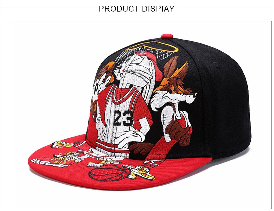 b9413378457 MNKNCL 2018 New Digital 23 Baseball Cap Hip Hop Snapback Hat Simple Classic  Caps Flat Bill Baseball Cap Jordan-in Baseball Caps from Men s Clothing    ...