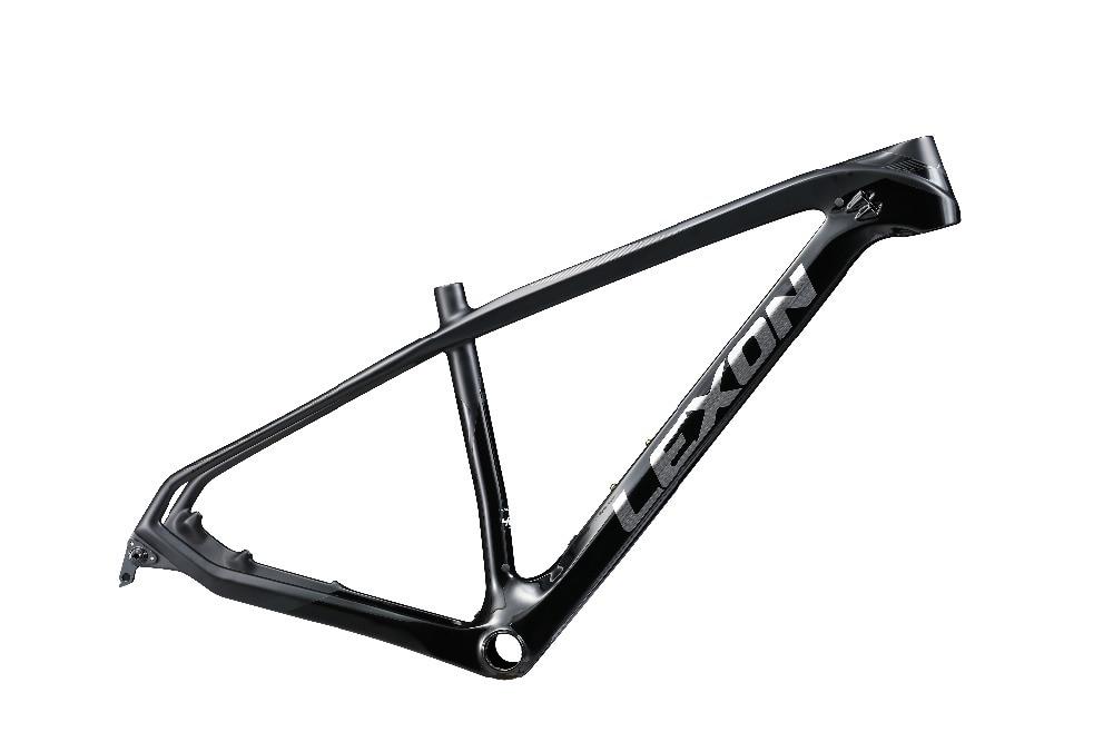 2017 lexon 29ER Mountain bike frame XC bike frame Hard tail bike frame TORAY carbon bike frame in Bicycle Frame from Sports Entertainment
