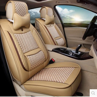 New arrival & Free shipping! Full set car seat covers for New Hyundai Tucson 2017 fashion breathable seat covers for Tucson 2016