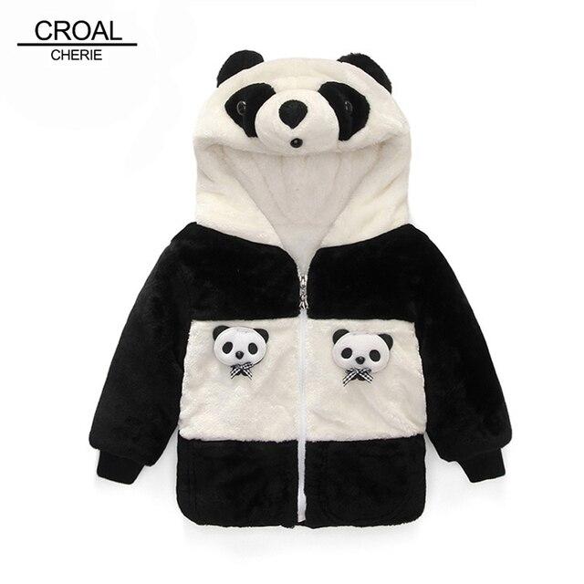 625b9f5cf631 70 105cm Animal Panda Baby Snowsuit Thickening Flannel Baby Boy ...