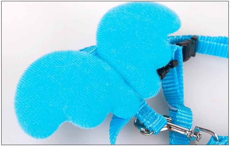 Cute Angel Pet Dog Leashes and Collars Set Puppy Leads for Small Dogs Cats Designer Wing Adjustable Dog Harness Pet Accessories Wholesale6