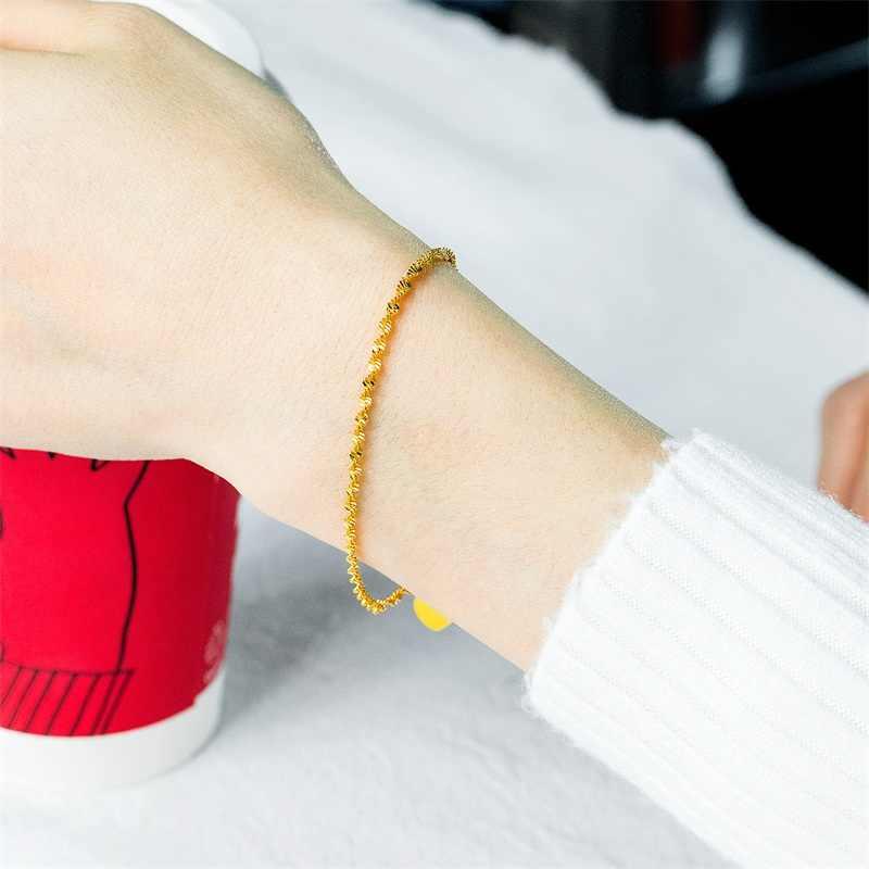 AZIZ BEKKAOUI Đơn Giản Phong Cách Vàng Màu Vòng Đeo Tay Quyến Rũ cho Phụ Nữ Đồ Trang Sức Trái Tim Món Quà Tiệc Cưới Bán Buôn Chất Lượng Hàng Đầu