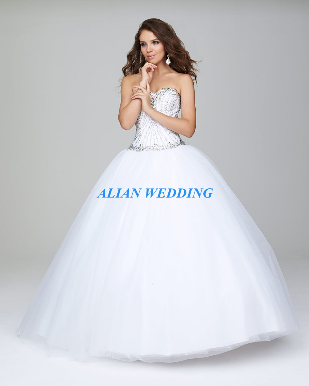 Popular Sweet 16 Dresses White Ball Gowns-Buy Cheap Sweet 16 ...