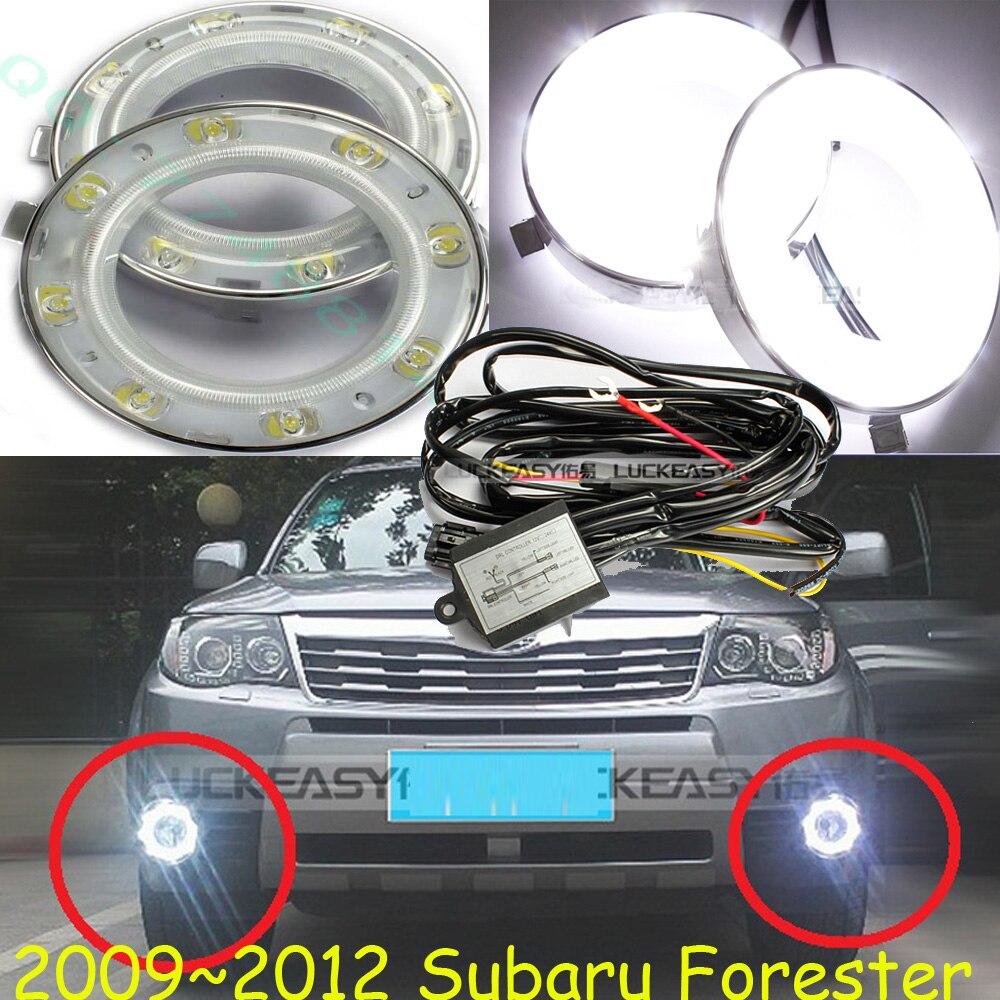 Forester daytime light;2008~2012,Free ship!LED,Forester fog light,2pcs/set;Forester цена