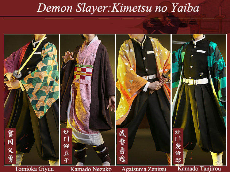 Demon Slayer Costume Poster Design