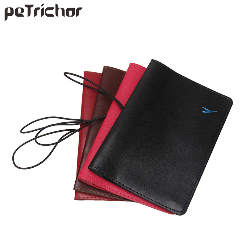 Fashion Travel Passport Cover For Women PU Leather ID Credit Card Holder Portable Female Business Card Wallet Document Case Men etya men travel passport cover documents wallet fashion pu leather women male business credit card holder and passport holder