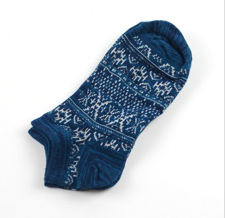 Fcare 16 шт. = 8 пар; ; модные носки; мужские тканые носки с узором; шлепанцы; Летние вязаные носки; толстые носки с антибиотиком