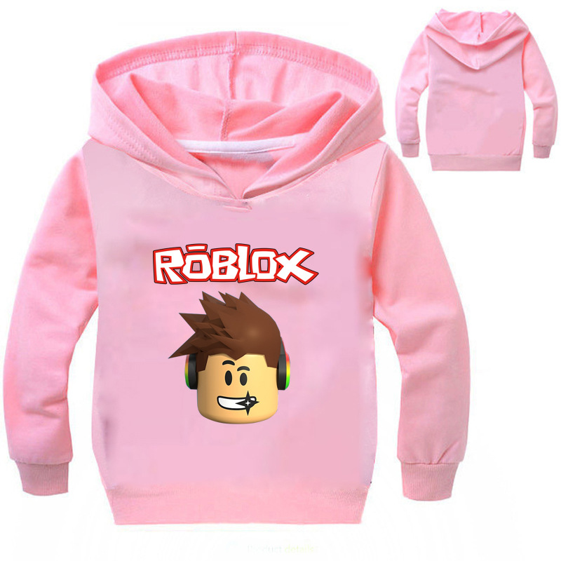 YLS 2-14Years Roblox Hemd Jungen Hoodies und sweatshirts Pullover Slim Fit Top Basis Infant Mädchen Mantel Absturzsicherung Bike Jumper