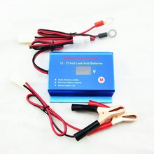 12V 24V 36V 48V 60V 72V battery desulfator conditioner regenerator with quick disconnect cables(China)