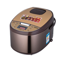 Isuotuo 5L Ceramics Inner Pot Intelligent Electric Rice Cooker for 4 8 People Home 220V 900W Healthy Firewood Rice Tile Pot