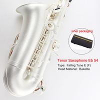 Saxophone Copy Henry Of France Selmer Tenor Saxophone Eb 54 Silver General Anesthesia Reference Surface Brass