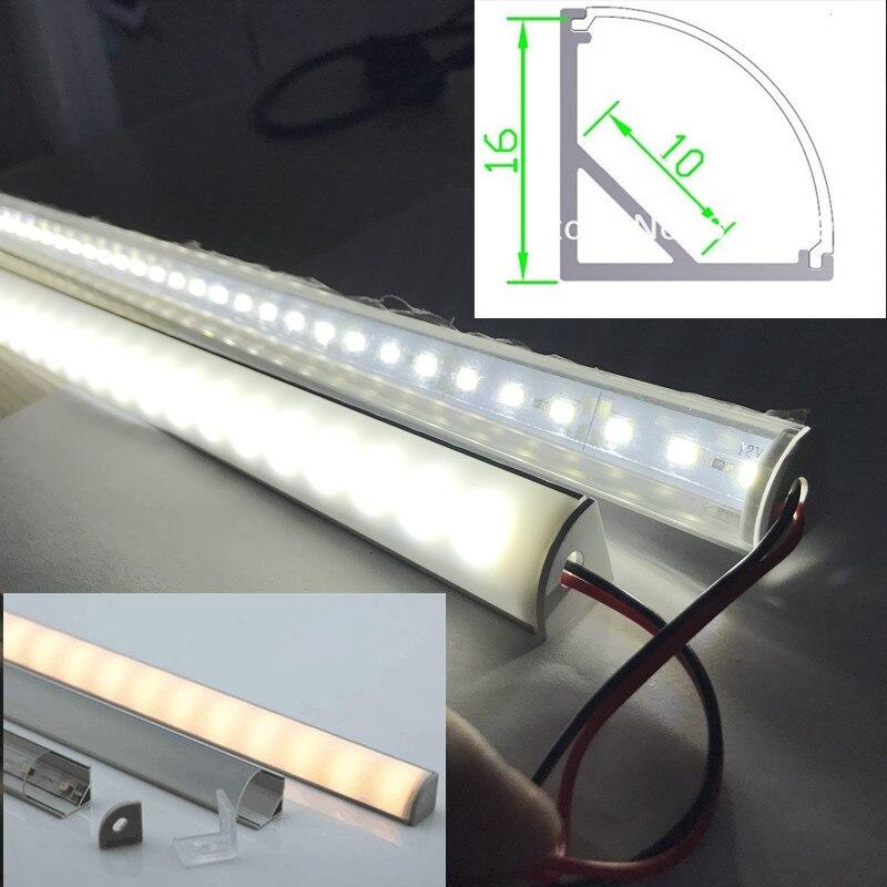 Profil Aluminium Dengan 5050 Led Strip Led Bar Cahaya Forkitchen