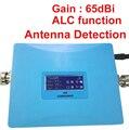 GSM 980 ALC усиления 65dbi GSM booster 20dbm мощность ЖК-дисплей репитера 900 МГц booster GSM сигнал увеличитель, легко использовать усилитель