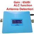 GSM ALC 980 display LCD de energia 20dbm ganho 65dbi repetidor GSM impulsionador 900 Mhz sinal de reforço GSM ampliador, fácil uso de reforço