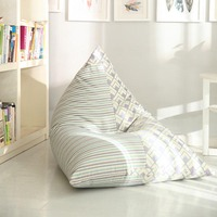 Lazy Sofa Cover Without Core Jacquard Cloth Casual Bedroom Modern Afternoon Nap Tatami Reading Chair High Quality