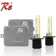 R8 Super Canbus 55W HID Xenon Headlight Kit Slim Ballast 881 H1 H7 H8 H11 HB3 HB4 D2H 5500K H4 9007 H13 Bi-Xenon High Lumen Bulb