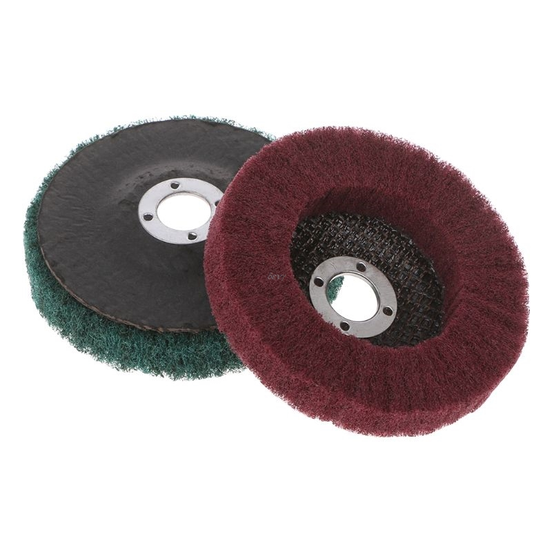 120/240 Grit Nylon Polishing Wheels 100*16mm Grinding Wheel For Metal Grinder Polishing Disc Dremel Accessories